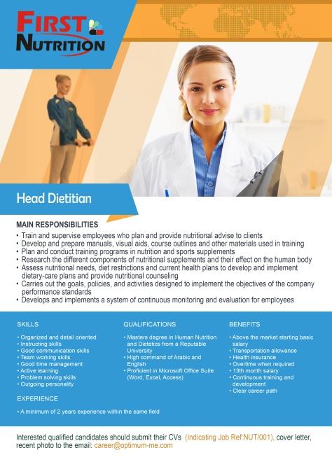 Head-Dietitian