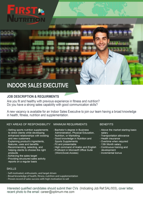 Indoor Sales Executive